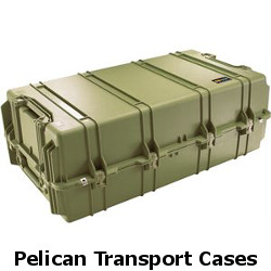 pelican transport cases