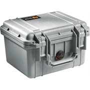 PELICAN # 1300 CASE NO FOAM - SILVER
