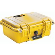 Pelican 1400Ynf 1400 Case No Foam - Yellow