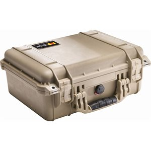 Pelican 1450Dtnf 1450 Case No Foam - Desert Tan