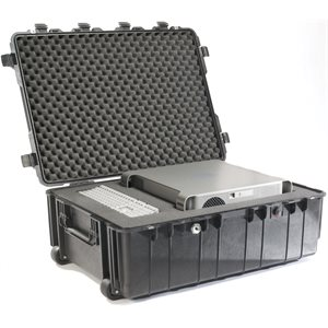 PELICAN # 1730 WEAPONS TRANSPORT CASE - BLACK