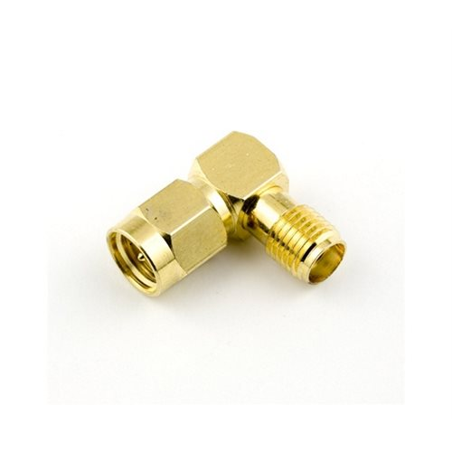 LECTRO ADAPTER, SMA RIGHT ANGLE MALE TO FEMALE FOR ANTENNA