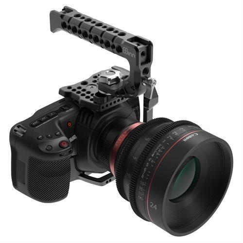 8Sinn BM Pocket Cinema Camera 4K Half Cage= Top Handle Scorpio(inc 8-AR28MMM)