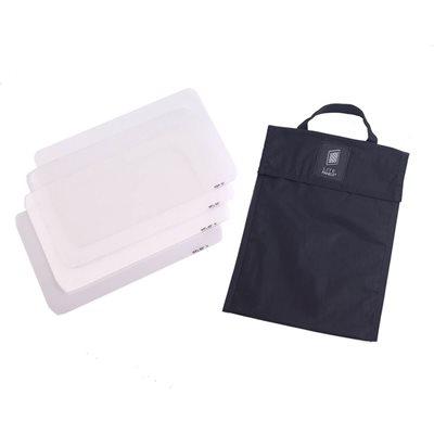 LITE PANELS NANOPTIC LENS SET (4-PIECE) WITH BAG FOR HILIO D12 / T12