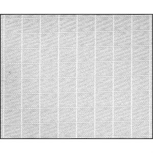 """Rosco 1 / 4 Grid Cloth Roll, 54""""x22'"""
