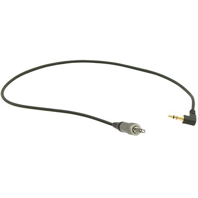 Ambient Recording Adapter cable 3.5 m screwlock plug to 3.5mm 90° TRS PAD