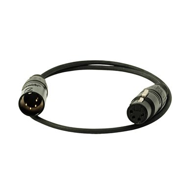 Ambient Recording cable XLR-4F to XLR-4M, 0,5 m