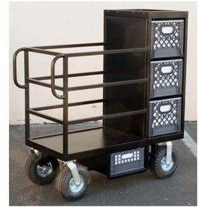 Kino-Flo Mini Cart with foam filled wheels