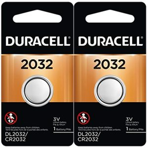 DURACELL DL-2032B2 BATTERY (TWIN PACK)