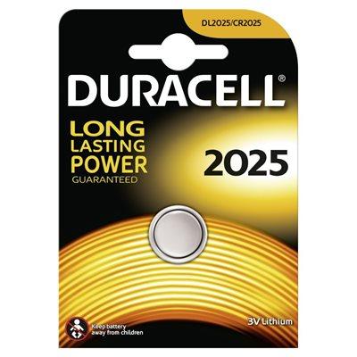 DURACELL 2025 3V LITHIUM BATTERY