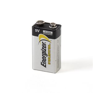 ENERGIZER 9VOLT INDUSTRIAL BATTERY