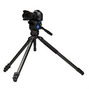 A373F Series 3 Aluminium Single Tube Video Tripod with BV6 head