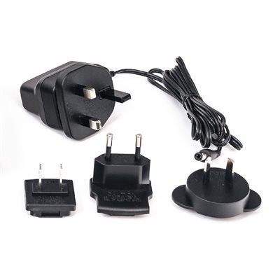 AC Adaptor 12vdc 500mA PSU 2.1 x5.5mm (UK, EU & USA) suits TRX & DESK-TX8