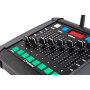 Portable DMX Desk (8 x Fader / 512Ch) Inc: 1x Ant & 1x AC Adapter