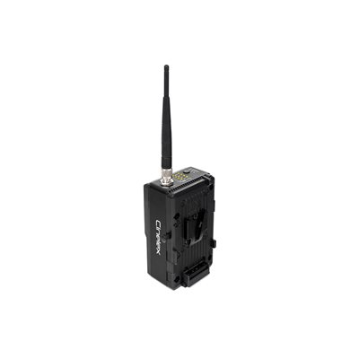 Wireless DMX Tx / Rx with V-Mount Inc: 1x Ant & 1 x AC Adapter