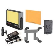 CINEO LIGHTING MAVERICK BI-COLOR PORTABLE V-LOCK KIT. INCLUDES FIXTURE, 3200K & 5600K PANELS, V-LOCK & AC ADAPTER