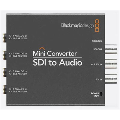 BLACKMAGIC CONVMCSAUD MINI CONVERTER SDI > AUDIO