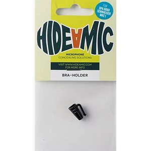 Hide-a-mic Bra-holder, Black