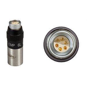 Ambient Recording Ph 48 volts / electret converter Lemo 2C 6-pin, Audio Ltd.