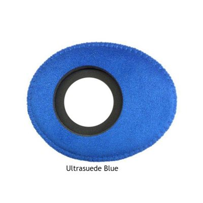 BLUESTAR EYEPIECE SMALL OVAL ULTRASUEDE BLUE