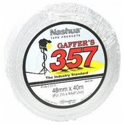 Nashua 357 Gaffer's Tape - White 48mm x 40m