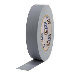 "PRO Tape Pro 46 Grey Colored Crepe Paper Masking Tape 1"" 54m / 60YRD - 3"" Core"