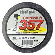 Nashua 357 Gaffer's Tape - Black 48mm x 40m
