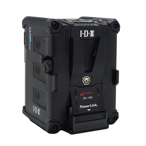 IDX 143Wh PowerLink Li-ion V-Mount Battery with 2x D-Taps & 1x USB