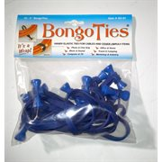 BongoTies ALL-BLUE 10-pack