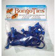 BongoTies ALL-BLUE 10-pack