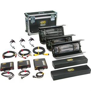 Kino Flo Lighting Interview Kit (3-Unit), Univ 230U