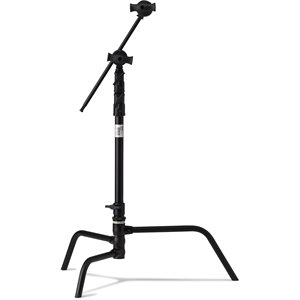 "Master 20"" C Stand w /  Turtle Base (Black)"