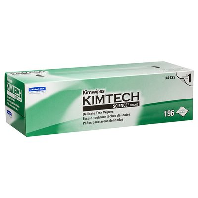 KIMWIPES - LARGE (196 Wipes Per Box)