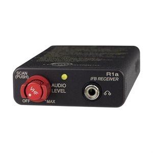 LECTROSONICS W / BAND IFBR1A RX (VHF 174-216 MHZ) W / POUCH