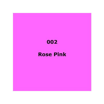 002 Rose Pink roll, 1.22m X 7.62m / 4' X 25'