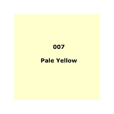 Lee Filters 007 Pale Yellow Roll