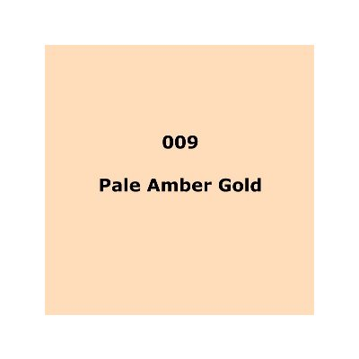 "009 Pale Amber Gold sheet, 1.2m x 530mm / 48"" x 21"""