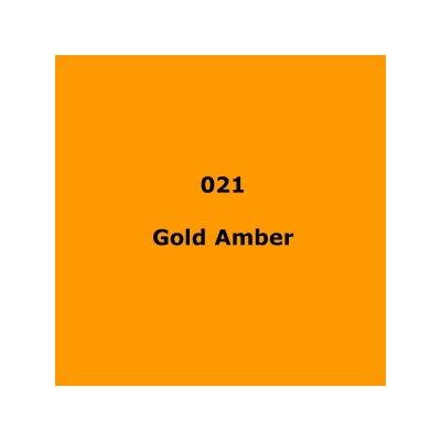 021 Gold Amber roll, 1.22m X 7.62m / 4' X 25'