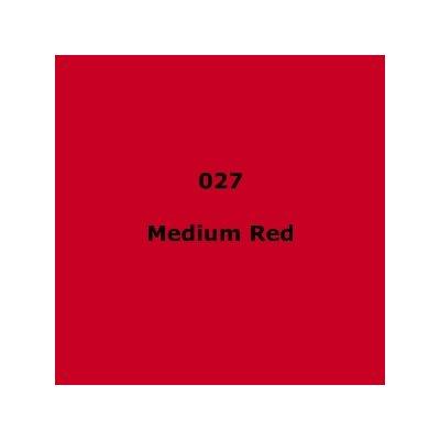 "027 Medium Red sheet, 1.2m x 530mm / 48"" x 21"""