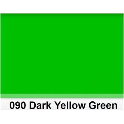 "090 Dark Yellow Green Half Sheet, High Temperature, 610mm x 530mm  /  22"" x 21"""