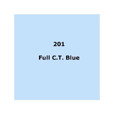 201 Full C.T Blue roll, 1.22m X 7.62m / 4' X 25'