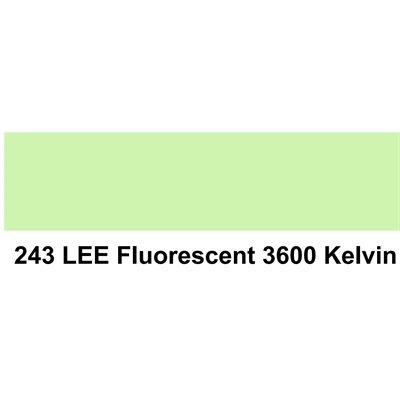 Lee Filters Roll Fluroecent 3600 K | John Barry Sales