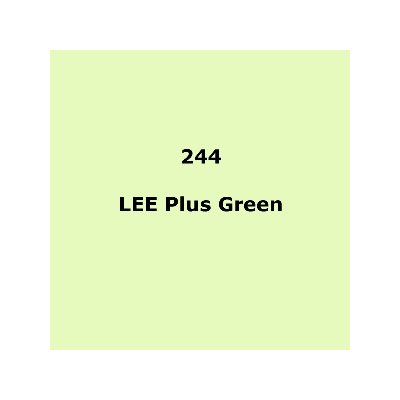 Lee Filters 244 Plus Green roll