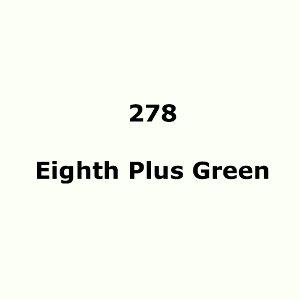 "278 Eighth Plus Green sheet, 1.2m x 530mm / 48"" x 21"""