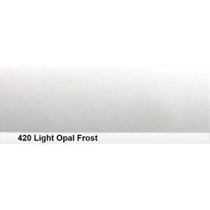 """420 Light Opal Frost sheet, 1.2m x 530mm / 48"""" x 21"""""""