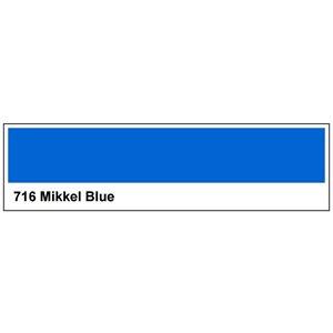 "716 Mikkel Blue roll, High Temperature, Mikkel Blue, 1.17m X 4m / 46"" X 13'"