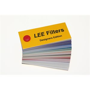 Lee Filters Swatch Book Designer Edition Blue Pin