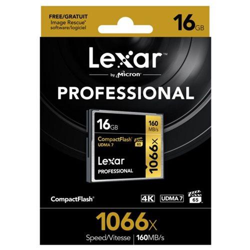 Lexar Pro CF 16gb 1066x