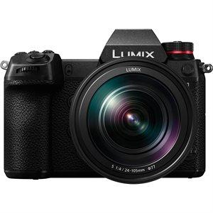Full-frame DSLM (Digital Single Lens Mirrorless) Camera, Includes LUMIX S F4 24-105mm Lens