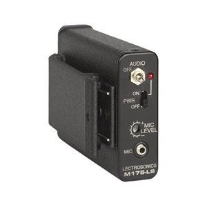 LECTRO VHF BELT PACK TRANSMITTER W / MUTE SWITCH. FREQENCY B1, 537.600-614.375MHZ